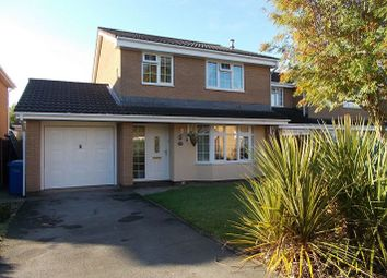 Thumbnail 4 bed detached house to rent in Carmarthen Close, Callands, Warrington