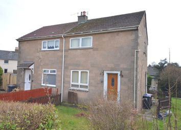 Thumbnail 2 bed semi-detached house for sale in Bissett Crescent, Duntocher, Clydebank
