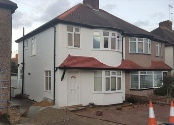 Thumbnail 3 bed semi-detached house to rent in Axholme Avenue, Burnt Oak, Edgware