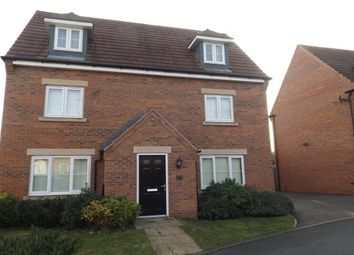 Thumbnail 5 bed detached house to rent in Dexters Grove, Hucknall