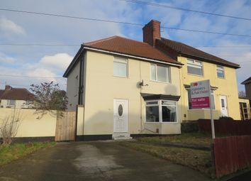 Thumbnail 3 bed semi-detached house for sale in Mond Crescent, Billingham