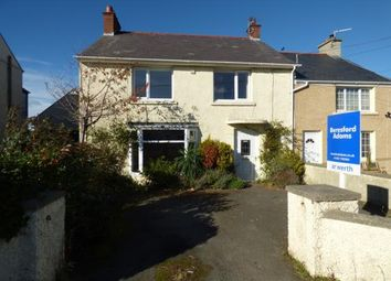 Thumbnail 3 bed semi-detached house for sale in Four Mile Bridge, Holyhead, Sir Ynys Mon