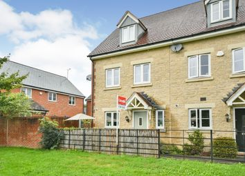 Thumbnail 3 bed end terrace house for sale in Henchard Crescent, Swindon