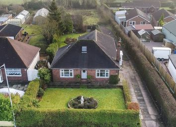 Thumbnail 3 bed detached bungalow for sale in Long Lane, Harriseahead, Stoke-On-Trent