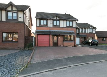 Thumbnail 4 bed detached house for sale in Grenaby Avenue, Hindley Green, Wigan