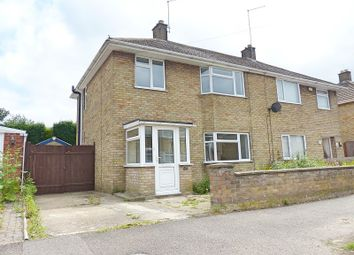 Thumbnail 3 bed semi-detached house to rent in Northgate, Whittlesey, Peterborough