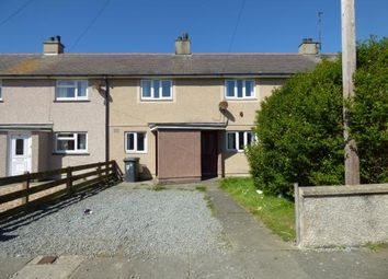 Thumbnail 3 bedroom terraced house for sale in Marchog, Holyhead, Sir Ynys Mon