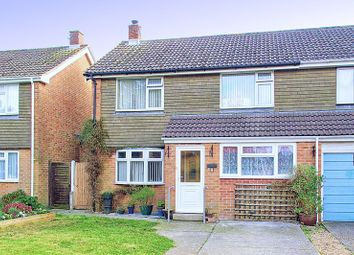Thumbnail 4 bed semi-detached house for sale in Lavant Down Road, Lavant, Chichester