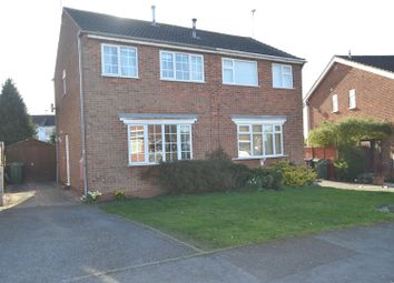 Thumbnail 2 bed semi-detached house for sale in Penrith Avenue, Shepshed, Leicestershire