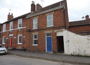 Thumbnail 2 bed end terrace house to rent in St Peters Road, Bourne, Lincolnshire