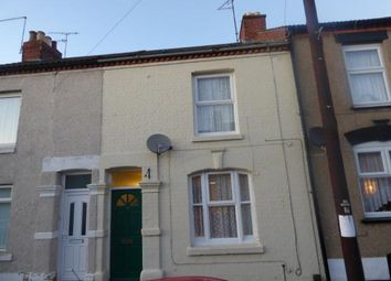 Thumbnail 3 bed terraced house for sale in Salisbury Street, Semilong, Northampton, Northamptonshire