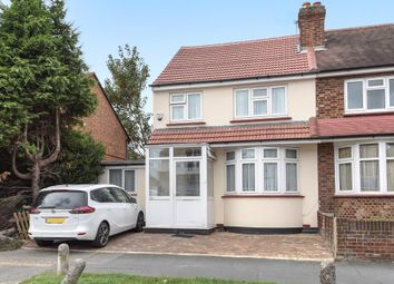 Thumbnail 4 bed semi-detached house for sale in Red Lion Road, Surbiton