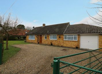 Thumbnail 3 bed detached bungalow for sale in Church Farm Lane, Thelnetham, Diss