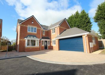 Thumbnail 5 bedroom detached house for sale in Main Road, Wrinehill, Crewe