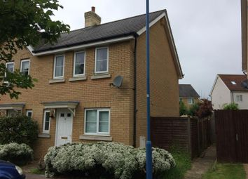 Thumbnail 2 bed end terrace house for sale in Mayfield Way, Great Cambourne, Cambridge