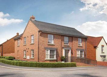 "Thumbnail 4 bed detached house for sale in ""Eden"" at Tingewick Road, Buckingham"