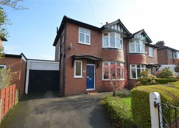 Thumbnail 3 bedroom semi-detached house for sale in Downham Road, Heaton Chapel, Stockport, Greater Manchester