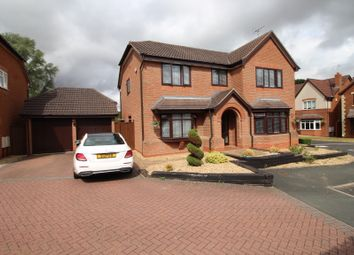 Thumbnail 5 bed detached house for sale in Maythorn Gardens, Codsall, Wolverhampton