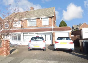 3 bed semi-detached house for sale in Matfen Avenue, Shiremoor, Newcastle Upon Tyne NE27