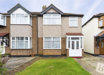 Thumbnail 3 bedroom semi-detached house for sale in Chester Avenue, Upminster, Essex