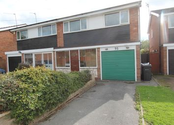 Thumbnail 3 bed semi-detached house to rent in Greenway, Handsworth Wood, Birmingham
