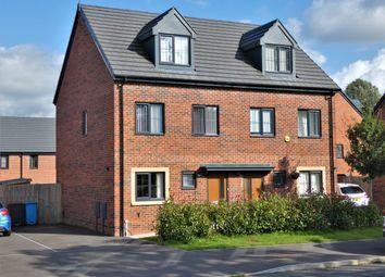 Thumbnail 3 bed town house for sale in Castlefields Avenue East, Castlefields, Runcorn