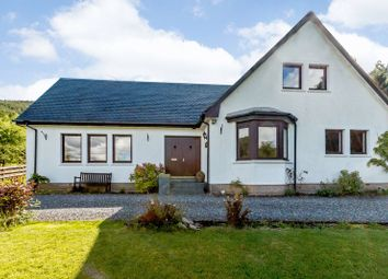 Thumbnail 4 bed detached house for sale in Strath Tummel, Pitlochry