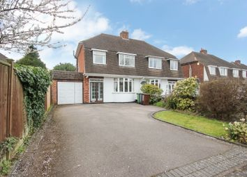 Thumbnail 3 bed semi-detached house for sale in Rowden Drive, Solihull
