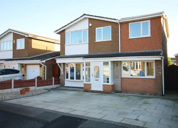 Thumbnail 4 bed detached house for sale in Shaftesbury Avenue, Penketh, Warrington