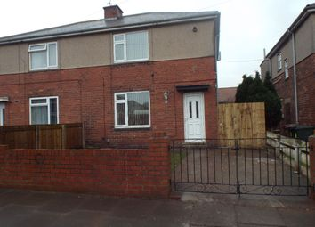 Thumbnail 3 bed semi-detached house to rent in Bede Crescent, Wallsend