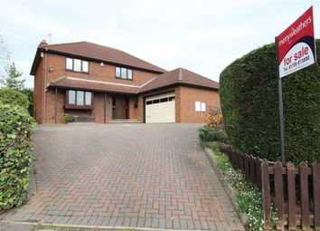 Thumbnail 4 bed detached house for sale in Rackford Road, North Anston, Sheffield, South Yorkshire
