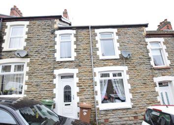 Thumbnail 3 bed terraced house for sale in Ty Newydd Street, Pontlottyn, Bargoed