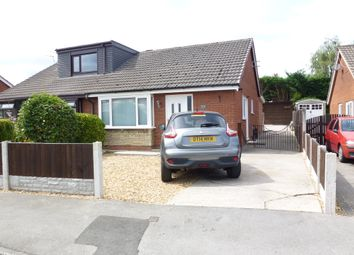 Thumbnail 2 bed semi-detached bungalow for sale in Riverside Avenue, Farington Moss