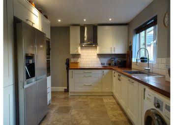 Thumbnail 4 bedroom detached house for sale in Devereux Close, Swindon