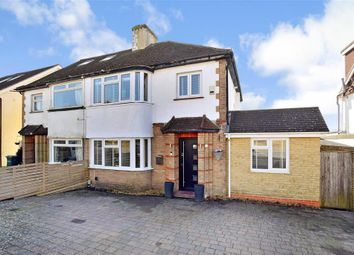 Thumbnail 4 bed semi-detached house for sale in Singleton Road, Patcham, Brighton, East Sussex