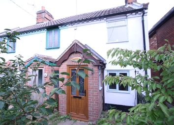 Thumbnail 1 bedroom end terrace house for sale in High Road, Trimley St Martin