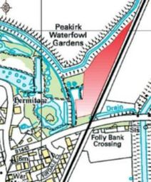 Thumbnail Land for sale in Folly Bank, Peakirk, Peterborough, Cambridgeshire