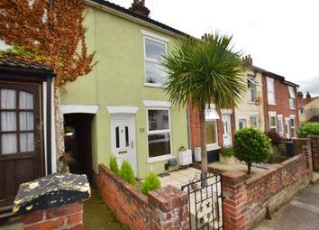 Thumbnail 2 bed terraced house for sale in Waveney Road, Ipswich