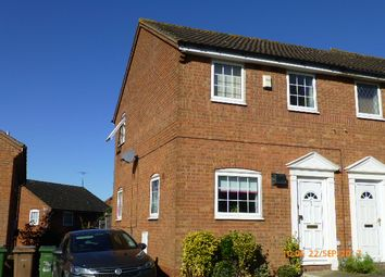 Thumbnail 2 bedroom semi-detached house to rent in Twyford Drive, Wigmore, Luton