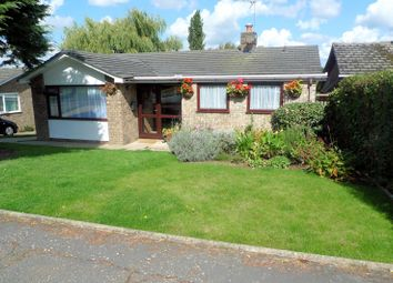 Thumbnail 3 bed detached bungalow for sale in Habgood Close, Acle