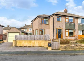 Thumbnail 4 bed semi-detached house for sale in Longbottom Avenue, Silsden, Keighley