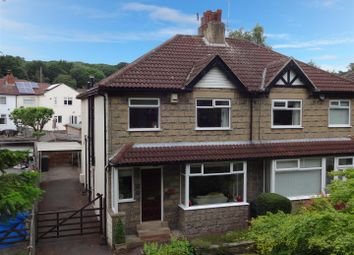 Thumbnail 3 bed semi-detached house for sale in Outwood Lane, Horsforth, Leeds