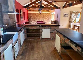 Thumbnail 4 bed barn conversion to rent in Burrett Road, Wisbech