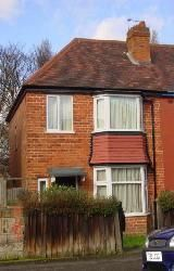 Thumbnail 3 bed semi-detached house to rent in Calthorpe Road, Handsworth, Birmingham