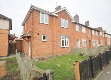 Thumbnail 3 bed end terrace house for sale in Wellinger Way, Braunstone, Leicester