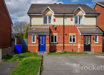 Thumbnail 2 bedroom semi-detached house to rent in Festival Close, Cobridge, Stoke-On-Trent