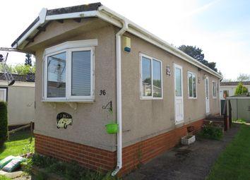 Thumbnail 1 bed mobile/park home for sale in Cambridge Lodge Park, Bonehurst Road, Horley