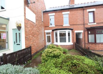 Thumbnail 2 bed terraced house for sale in Rugby Road, Hinckley