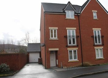 Thumbnail 4 bed semi-detached house for sale in Druids Close, Caerphilly