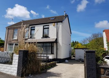 Thumbnail 3 bed semi-detached house to rent in Caemawr Road, Morriston, Swansea